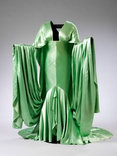 Costume designed by Travis Banton for Claudette Colbert in Cleopatra (1934)