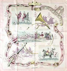 Carré Hermès, A cor et à cri