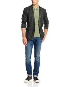 09d0a0ff0 Calvin Klein Jeans Men s Mixed Media Blazer - List price   168.00 Price    79.50 Saving