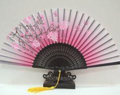 Hecho a mano de seda japonés mano plegable por HaveItFancyWorld