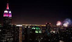 #MacysFireworks grand finale last night with Macy's and Usher. #EmpireStateBuilding #NYC