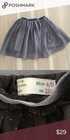 Zara Girls Tulle Skirt Size 4/5 tulle skirt from Zara Zara Bottoms Skirts