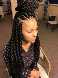 75 Super Hot Black Braided Hairstyles To Wear | box braids ...