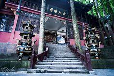 Temple - Dujiangyan - Sichuan - China I