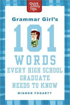 8 Best Grammar Girl My Books Images Grammar Tips Teaching