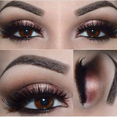 Rose gold smokey eye - Buscar con Google