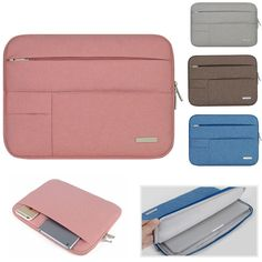 R  52.58  Nylon Laptop Sleeve Shoulder Bag Case Para Apple Macbook Air Pro  Lenovo Dell HP Asus Acer Notebook sacos de 11 12 13 14 15.4 15.6 em Bolsas  E ... dffe82927d