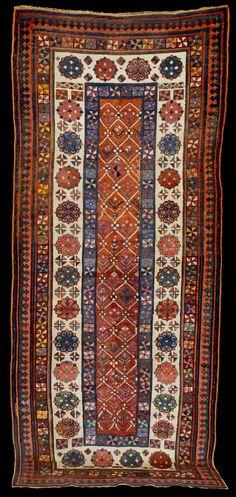 Antique Caucasian Talish Rug, Circa 1900 I QUADRIFOGLIO GALLERY