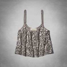 Womens Fallon Sequin Cami | Womens Tops | Abercrombie.com