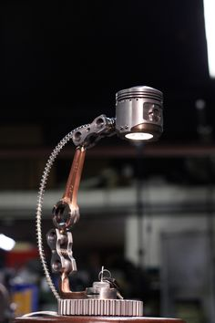 Piston Desk Lamp   ANDREW ZIEC