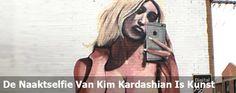 De naaktselfie van Kim Kardashian is dus gewoon kunst
