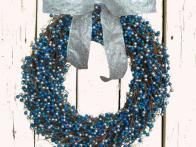 This wreath is featured on HGTVGardens.com. http://www.hgtvgardens.com/holidays/14-outdoor-items-for-hanukkah?s=8