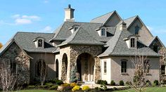 Plan W40444DB: Exceptional French Country Manor - Photo #3