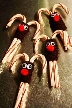 christmas candy cane cookies, 2013 christmas Reindeer Cookies #Reindeer Cookies Ideas