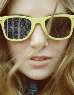 Yellow Ray-Ban