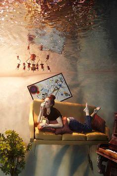 The Flood – Superbes scènes aquatiques et surréalistes