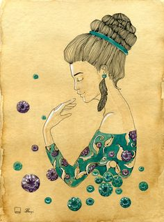 Jewelled Drawing. Magic is All Around Us on Behance