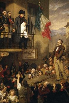 Napoléon à Grenoble, lors du Vol de l'Aigle, en mars 1815
