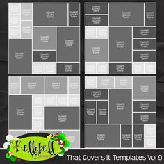 That Covers It Templates Vol 9