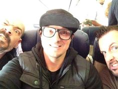 Ghost Adventures: Aaron, Zak and Billy.