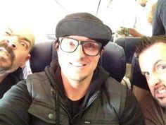 Ghost Adventures: Aaron, Zak and Billy.