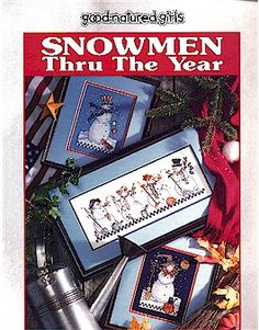 Snowmen Thru The Year - Cross Stitch Pattern