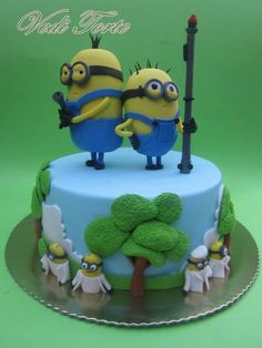 """Time For Action"" Despicable Me  ~ all edible"