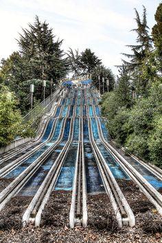 Whoa!   Abandoned amusement park