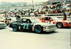 Dave Marcis' Malibu at Bristol 1981 Real Racing, Auto Racing, Chevy, Chevrolet, Car Pictures, Car Pics, Nascar Cars, Classic Race Cars, Bristol