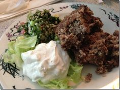 Kibbee from Nabeel's Cafe - one of my favorites!