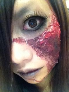 zombie make up