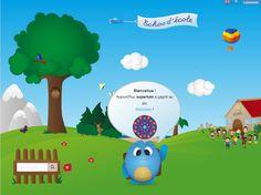 ECHOS d'ECOLE: un site avec plus de 180 jeux interactifs Sur pas mal de champs disciplinaires pour des enfants de 3 à 10 ans. A découvrir! https://echosdecole.com/#register
