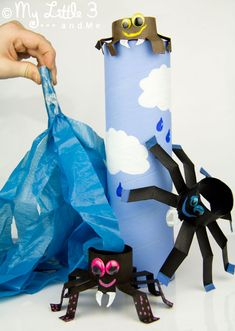 Incy Wincy Spider Toilet Roll Craft
