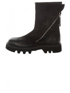 A255 Nabuk Nero Shoes Black