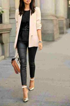 this outfit is professional / dressy. Although I could go with a nude pointed toe heel.