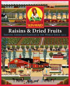 Sun Maid Raisin and Dried Fruit 100th Anniversary Book. This is NOT the same as the other Sun Maid Anniversary book pinned here. Note: I had difficulty with the PDF. Cover courtesy of http://www.slideshare.net/miteshtake/us-edition-completebookbook-309mb