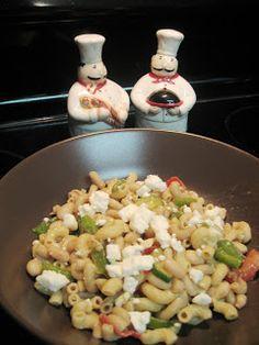 Clean Eating: Mediterranean Vegetable, White Bean & Feta Penne