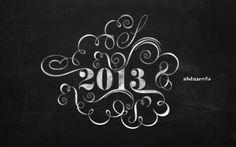 Wallpaper of the Week - Happy 2013