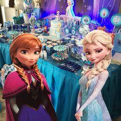 Frozen party festa frozen