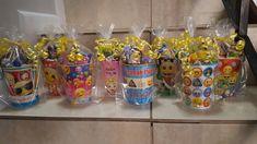 Emoji goodie bags done✔ 10th Birthday Parties, 12th Birthday, Boy Birthday, Party Gift Bags, Party Favors, Emoji Birthday Shirt, Party List, Party Themes, Party Ideas