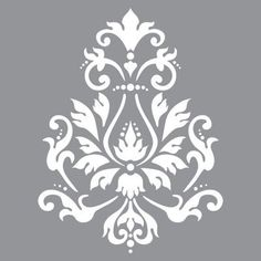 Create vintage style home decor pieces using Americana Decor Stencils and Chalky Finish Paint. These stencils work well on furniture as well as on smaller decorative items. Each stencil measures x Damask Stencil, Stencil Patterns, Stencil Designs, Tree Stencil, Home Bild, Chalky Finish Paint, Mandala Stencils, Sign Stencils, Printable Stencils