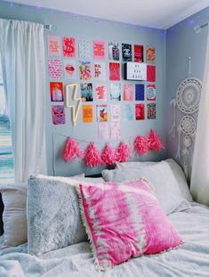 My New Room, My Room, Dorm Room, Teen Room Decor, Bedroom Decor, Bedroom Inspo, Bedroom Ideas, Bedroom Inspiration, Dream Rooms