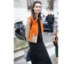 Street look à la Fashion Week de Milan automne-hiver 2014-2015, Jour 3
