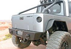 Tailgate custom Jeep Wrangler