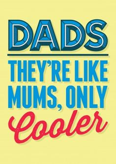 Dads are Cooler | Funny Fathers Day Card £2.99