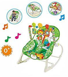 35daabacd Star Ibaby Jungle - Hamaca 3 en 1 con música y vibración  Amazon.es