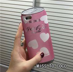MOSCHINO Lovers Erfrischungsgetränk Coca Dosen Silikon-Hülle für Apple iPhone 6/6S iPhone 6Plus/6s plus iphone 5 - elespiel.com