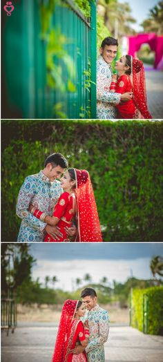 Love Story Shot - Bride and Groom in a Nice Outfits. Indian Wedding Couple Photography, Wedding Couple Photos, Wedding Photography Poses, Wedding Photography Inspiration, Wedding Couples, Wedding Bride, Wedding Ceremony, Photoshoot Inspiration, Couple Shoot