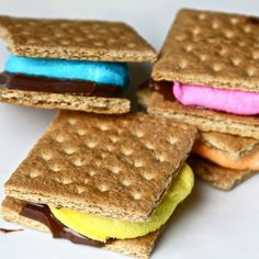 20 Easter Desserts: Peep S'mores