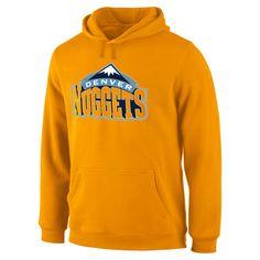 Denver Nuggets Team Primary Logo Pullover Hoodie - Gold - $59.99